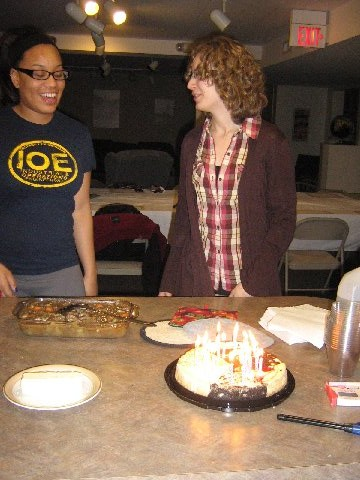 Celebrating November Birthdays! (Fall 2012)