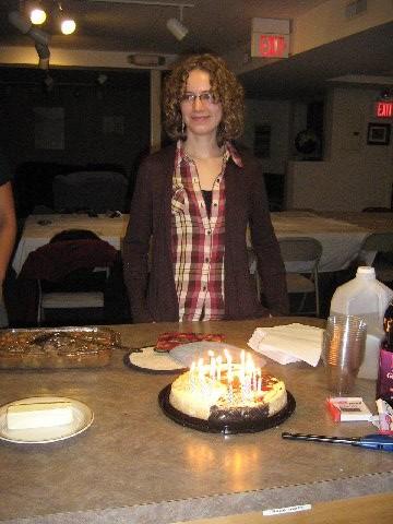 Savi and the Birthday Cheesecake (Fall 2012)